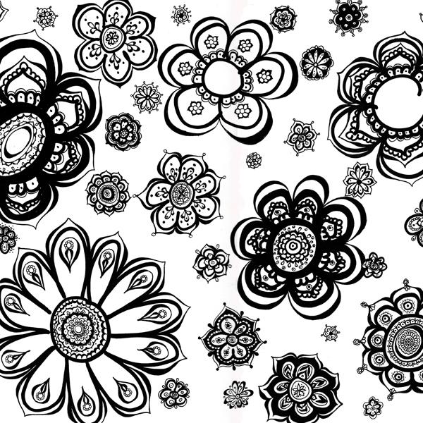 Hattifant's Flower Doodle