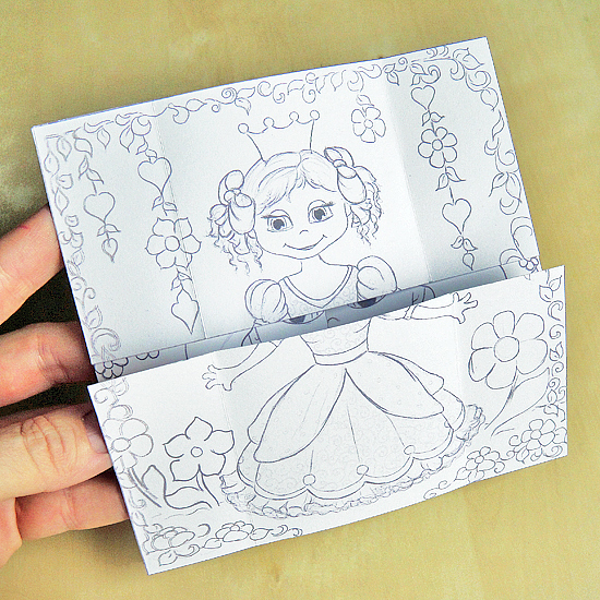 Hattifants Endless Princesses Card