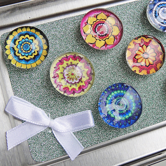 Hattifant's Mandala Magnets