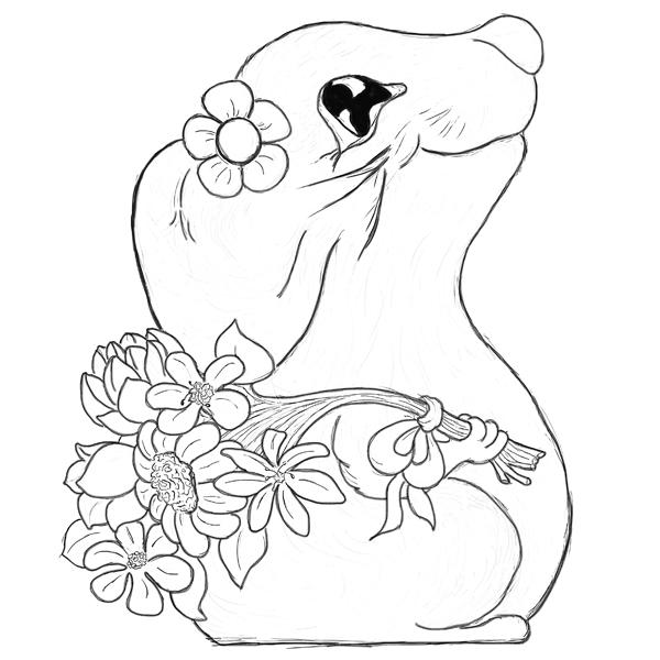 Hattifant's Lilita, little Lady Mouse