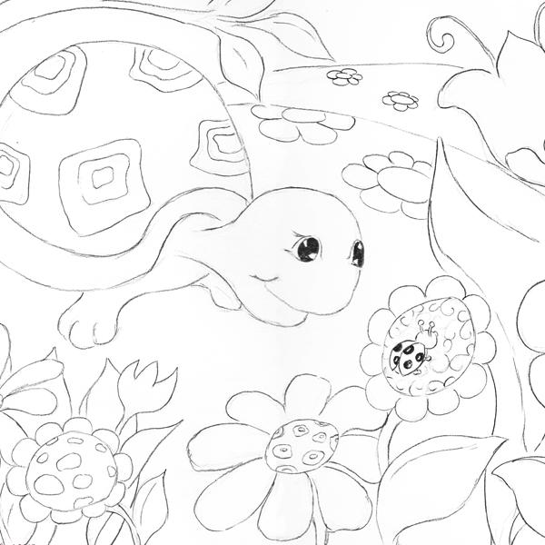 Hattifant's Turtle & Ladybird