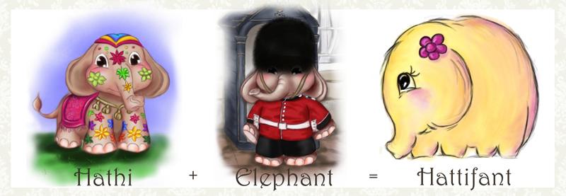 Hathi+Elephant=Hattifant
