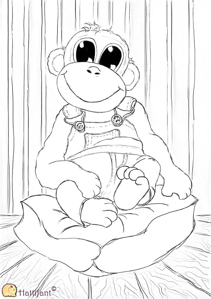 Monkey Charlie, Hattifant's Best Friend