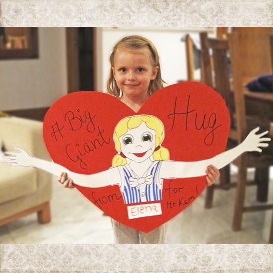 Hattifant's Giant Heart Hug