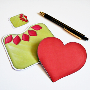 Hattifant Heart PullOut Card
