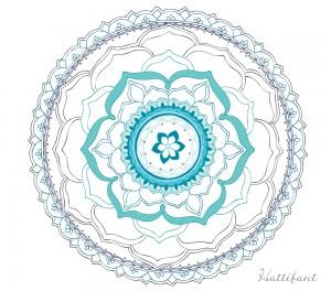 Hattifant's Stress Relief LOTUS Mandala