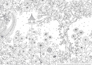 secret garden free printables - Free Adult Coloring Books