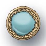 Hattifant Button Flowerpot Turquoise