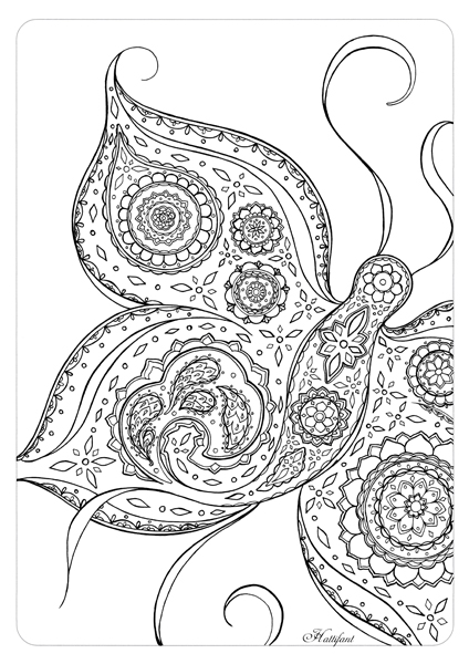 hattifant coloring pages - photo#25