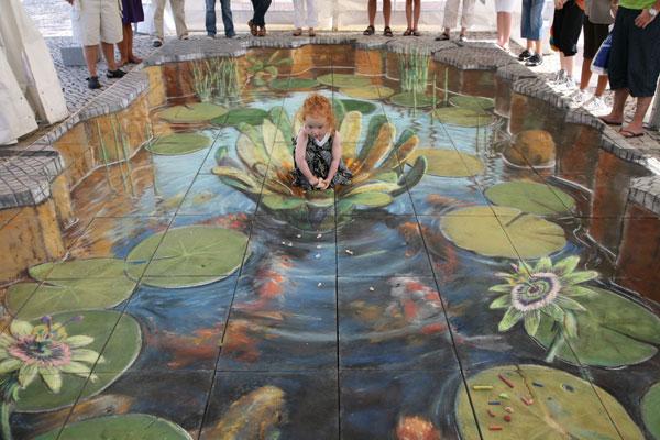 Justin Beever - 3D Street Art Illusions