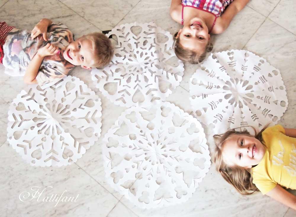 Hattifant's Giant Paper Snowflakes