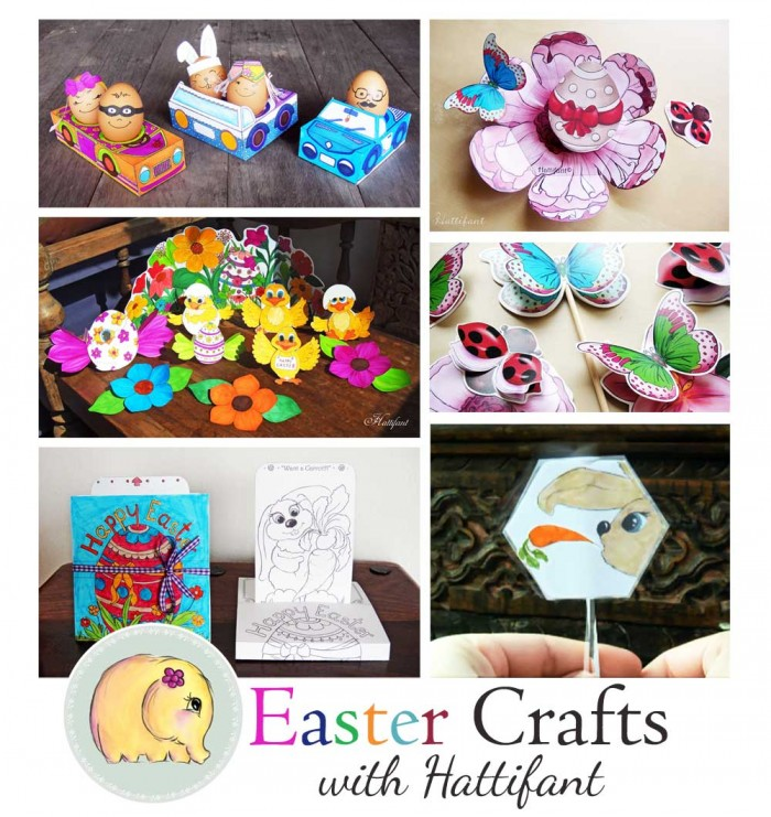 Hattifant Easter crafts for 2016 summary