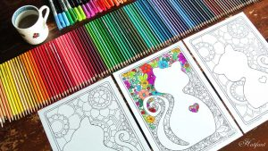 Hattifant Coloring Pages for Kids and Adults Cats
