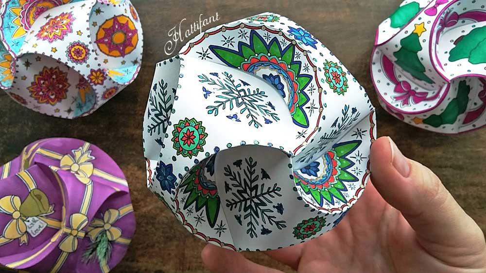 Triskele Paper Globes - Hattifant