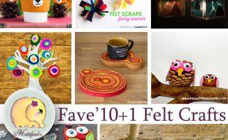 Hattifant favorite Felt crafts