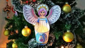 Hattifant's Angel and Starmaiden Luminary Papercraft LED Light
