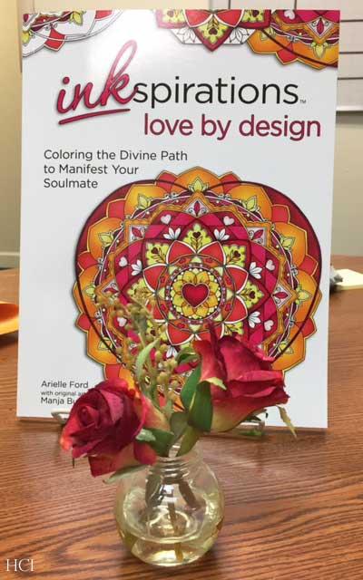 Hattifant Inkspiration Love by Design Manja Burton Artist Arielle Ford Author