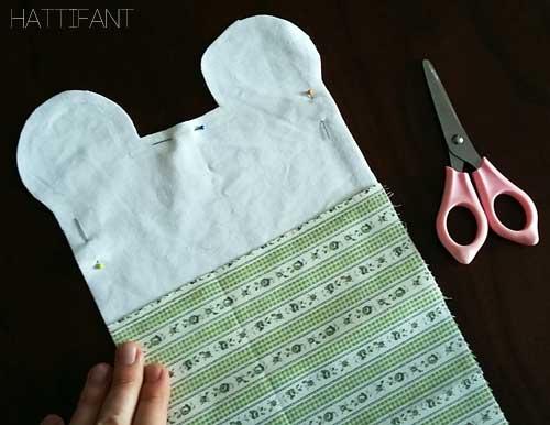 Hattifant sews stuffed animals the easy way Step 4