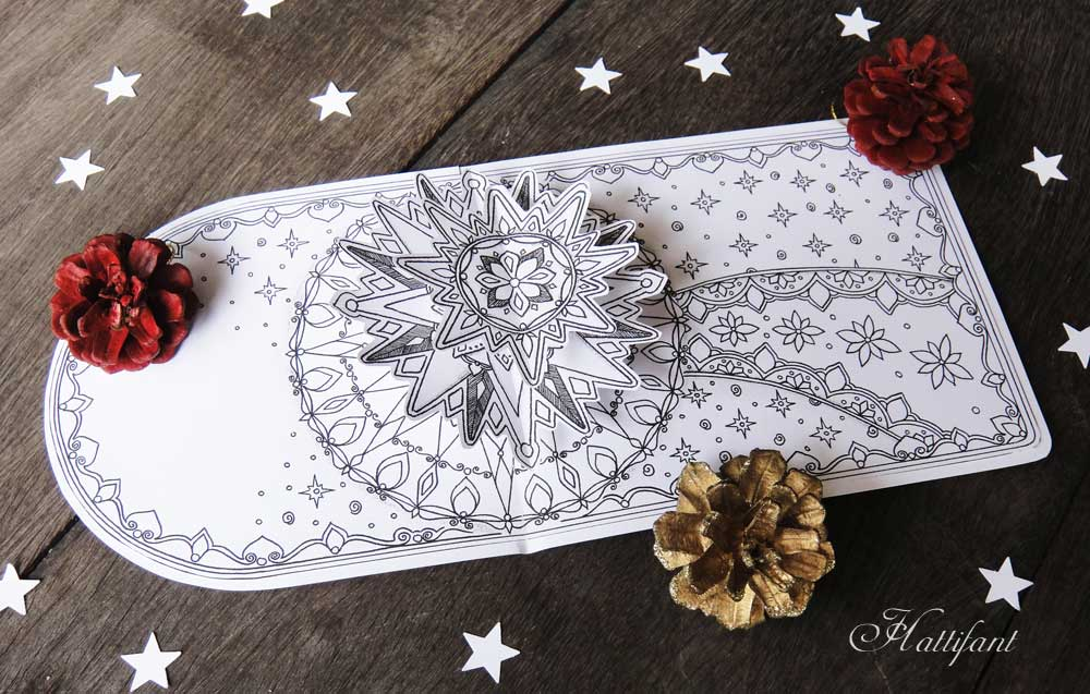 """Hattifant - """"Make a Wish Upon a Shooting Star"""" Pop Up Card"""