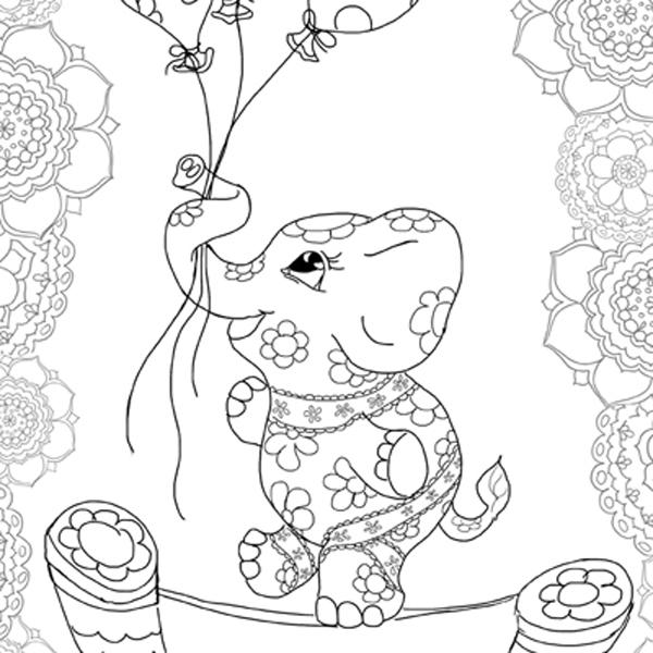 Hattifant's Balancing Elephant