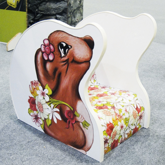 Hattifant's Girl Mouse Chair, Lilita