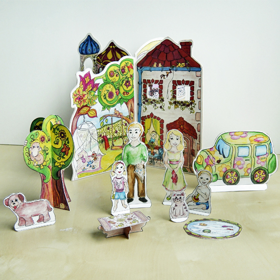 Hattifant's Travel Doll House