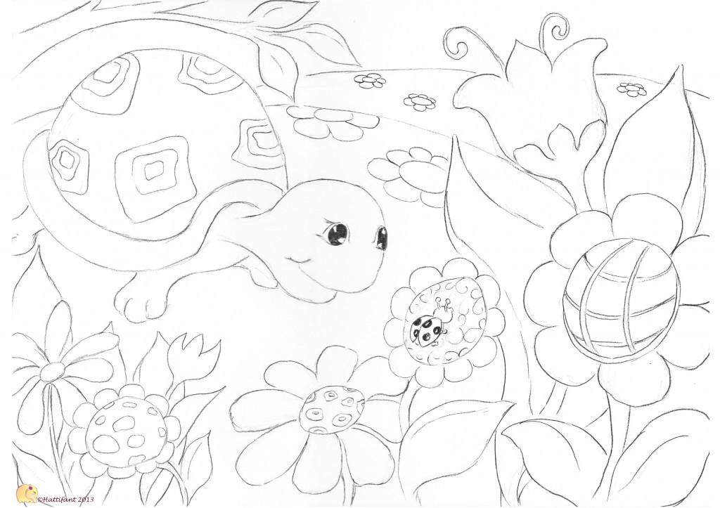 Turtle & Ladybird