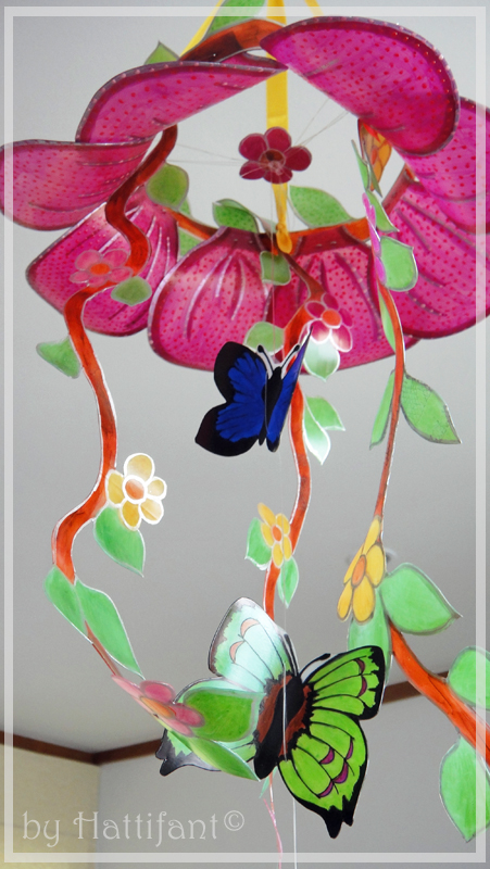Flower & Butterfly Mobile