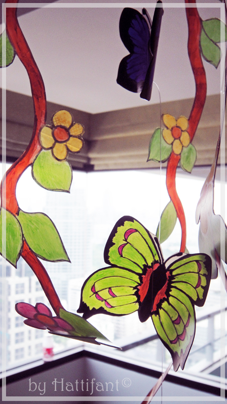 Flower & Butterfly Mobile 4