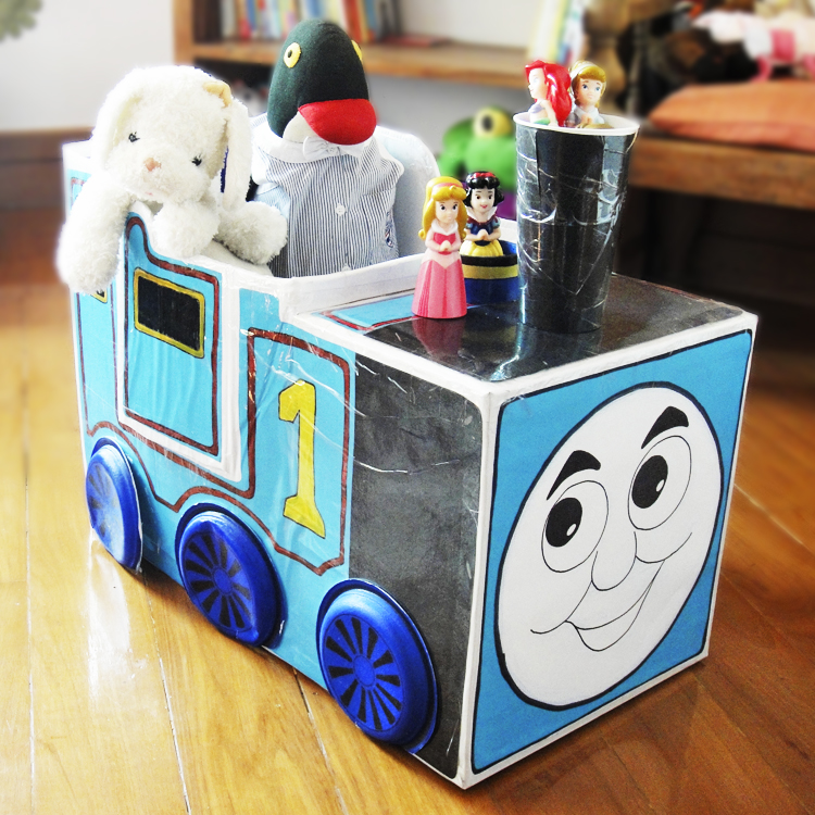 Hattifant's Cardboard Furniture Thomas, the Train