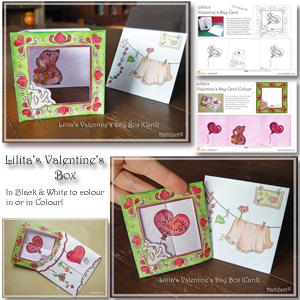 Lilita's Valentines Box Card