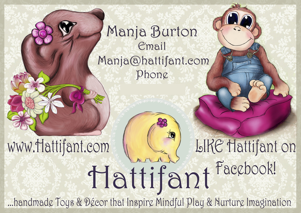 Hattifant's Business Card Design Print
