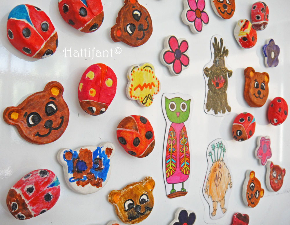Hattifant Workshop Clay Magnets