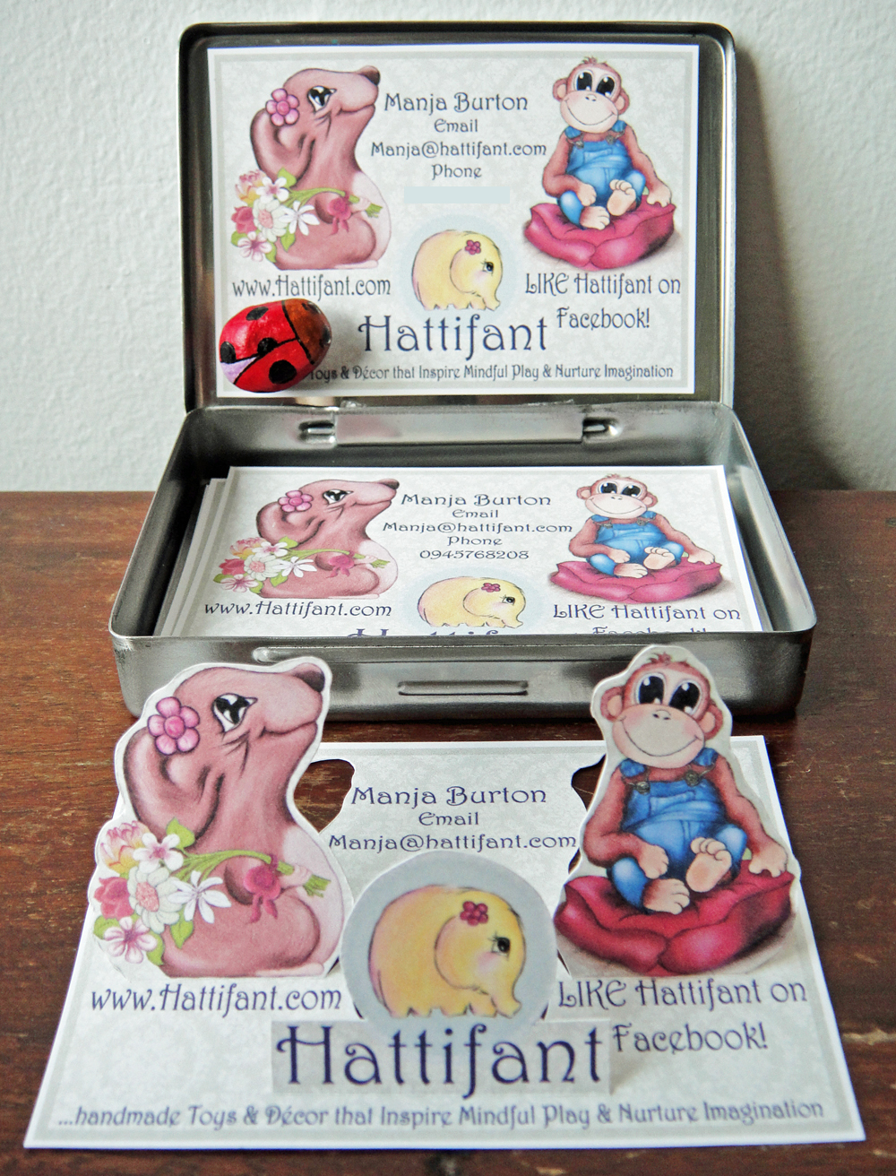 Hattifant's Business Card Design B