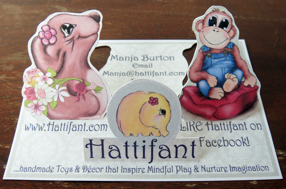 Hattifant's Business Card Design