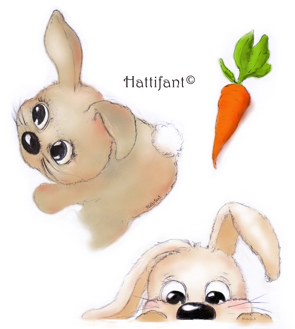 Hattifant Bunnies Design
