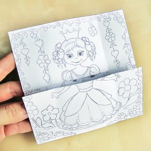 Hattifant's Neverending Princess Card