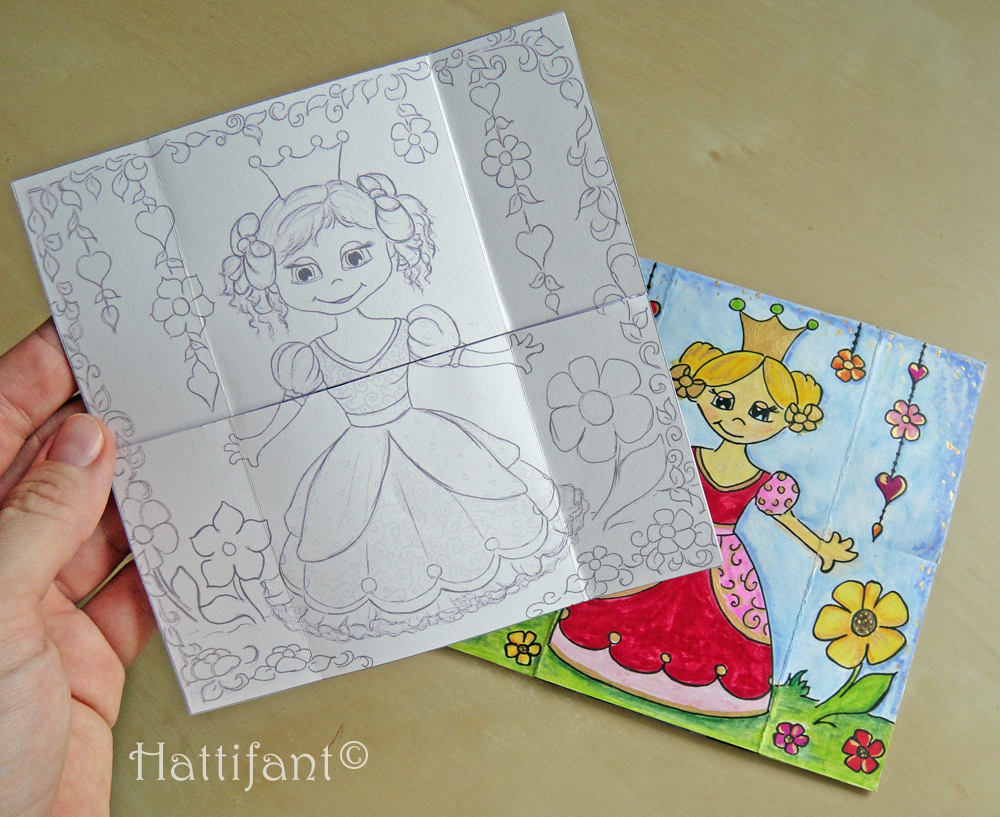 Hattifant's Endless Princess Card