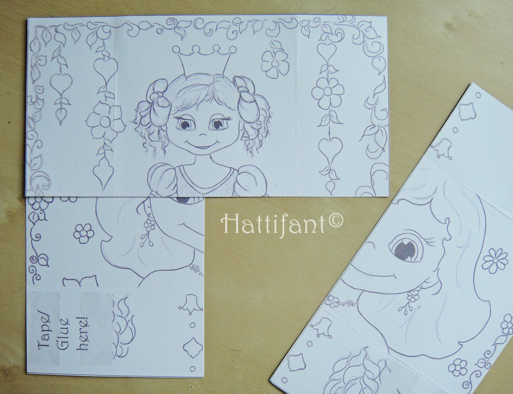 Tape Hattifant's Endless Princess Card