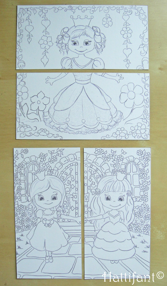 Hattifant's Endless Princess Card - Cut 2