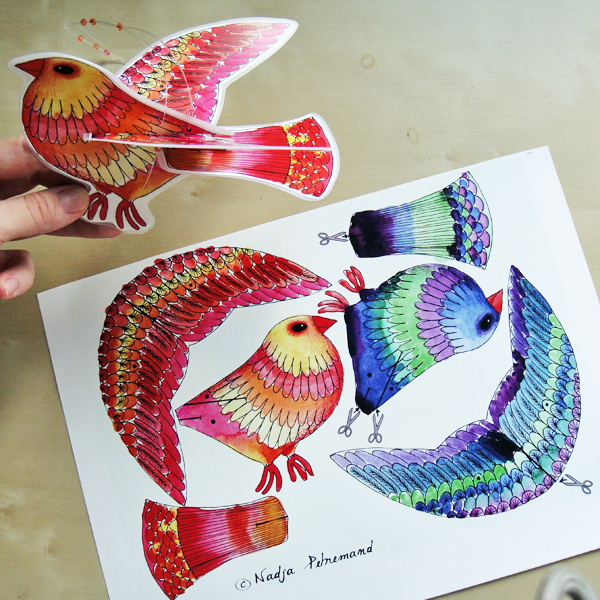 PaperBirds from Dans Mon Bocal