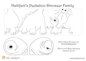 PikaBoo DinosaurFamily A4