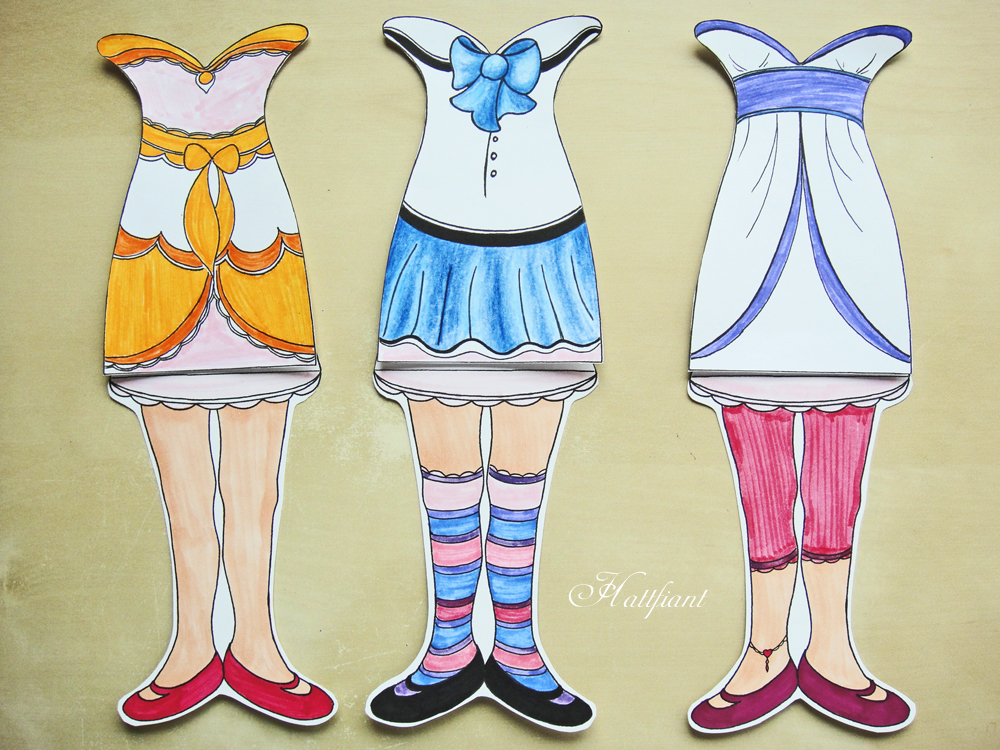 Hattifant's Mermaids - outfits