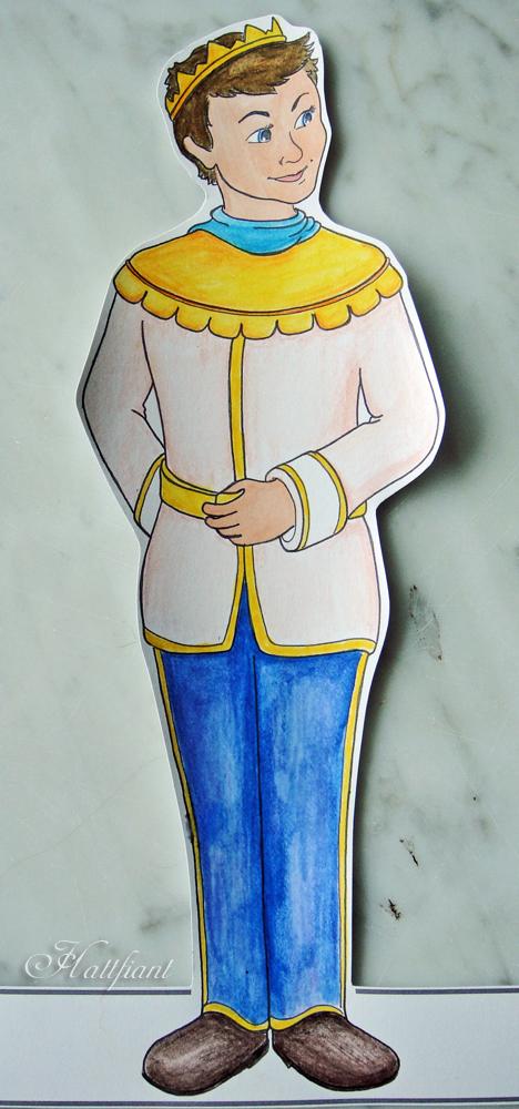 Hattifant's Magic Mermaid World - Prince Edwin