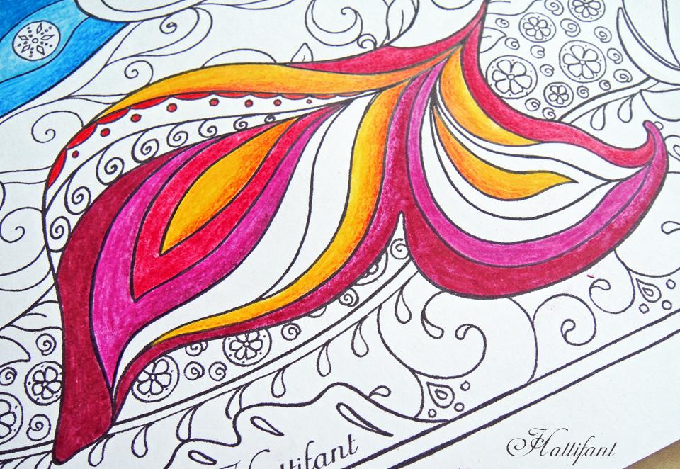 Hattifant's Mermaid Galore Grown Up Coloring