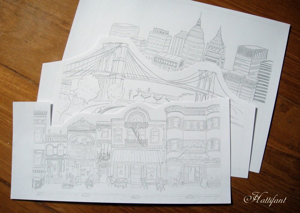 Hattifant GTS 2015 Sketch Scenes Backdrops