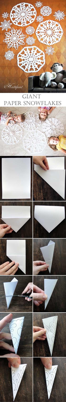 Hattifant - Giant Paper Snowflakes
