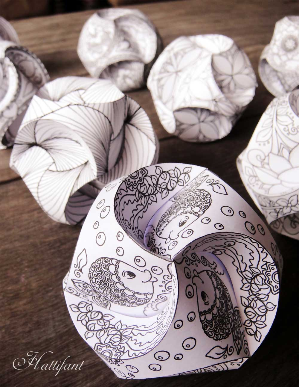 paper globes At first here looks bi-dimensional, as an atlas in just a few seconds it turns into a  three-dimensional globe the graphics enhance the paper's preciousness,.