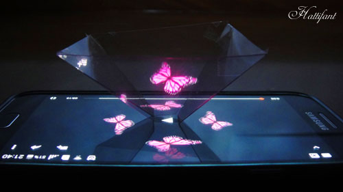 Hattifant - DIY HologramProjector