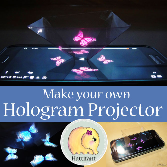 how to make your own hologram video projector